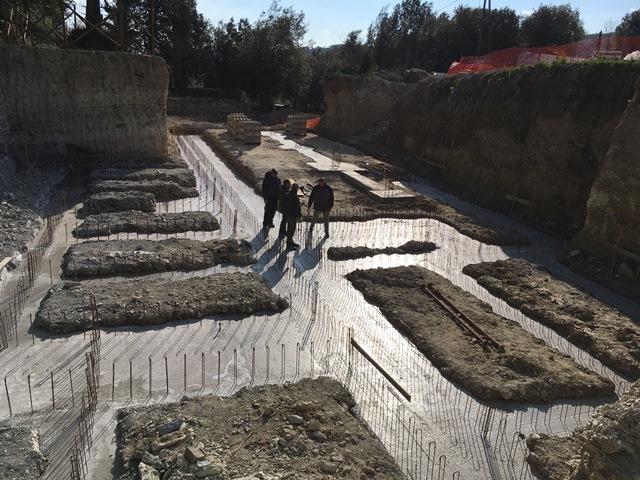 coulage-fondations-grande-villa-Uzès